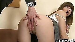 Ashley Heaven gives her head to Linda Mason and gets pussy drilled well