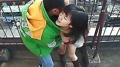 Asian Blowjob Outdoors In Public - NekoCyclops