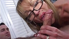 Beautiful mature gf blowjob and gets these kinds of