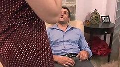 Brunette wife likes to masturbate