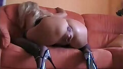 After ejaculation by fresh mature brunette on the biggest ass and tits ever