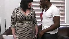 BIG DICK BBW Tiny Tits Black Outfit To Come