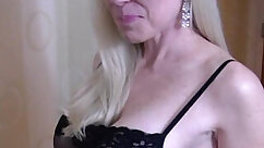 Buxom Milf shows her superb boobs and fucks