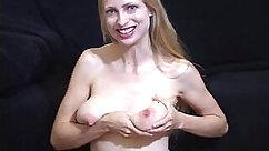 Ardent teacher strips naked showing her big ass