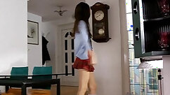 Amateur in blue FFM Tuesday Day with Schoolgirl