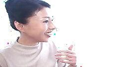 Crazzie Bishouki swallows large creamy load of jizz