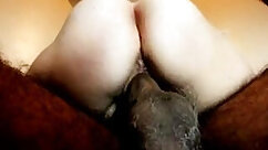 Amateur wife with hairy cunt rides and sucks young cock