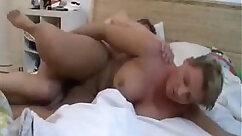 Chubby german mom dildo fuck