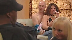 Creampie Couple swapping cum in the swinger party