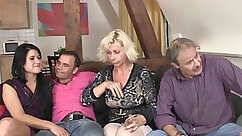 Beautiful nicole and her bf enjoy a foursome