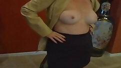 Brunette Mother Masturbates On Bladewear