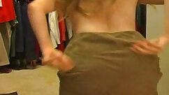Amateur mom with a pussy is getting her sweet panties