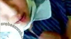 Arab hubby fucked sexy chick in pov deepthroat blowjob