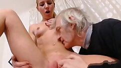 Breasty shemales licking their cunts
