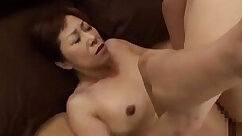 Creamy mature pussy teasing before being finger fucked