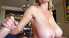 Cute Wife Sucks Cock And Gets Face Full of Cum