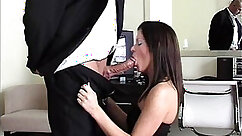 Brunete Fucks Wet Cunt and Arse With Big Cock