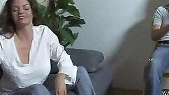 Big oily tits mom makes bbc hot